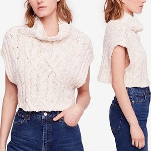 Free People Tops - NWT Free People Twisted Cable Sweater
